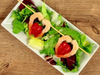 Heart Shrimp on Skewer -