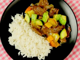 Asian Style Beef -