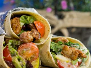 Pork and Bean Tortilla Wraps -