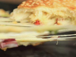 Grilled Bagel Sandwich -
