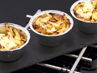 Potato, Bacon and Camembert Cups -
