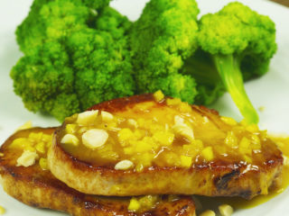 Pork Chops with Sweet Glaze -