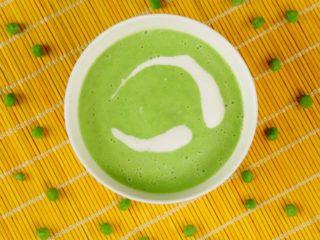 Green Pea Soup -