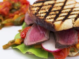 Spicy Beef Sandwich -