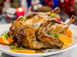 orange-flavored-roasted-duck