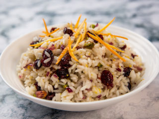 cranberry fried rice