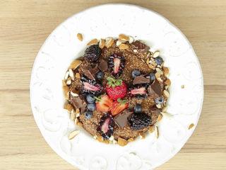Quinoa Chocolate Pudding -