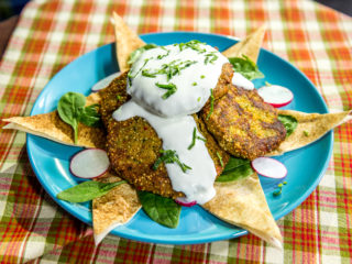 Chickpea, Quinoa and Veggie Fritters -