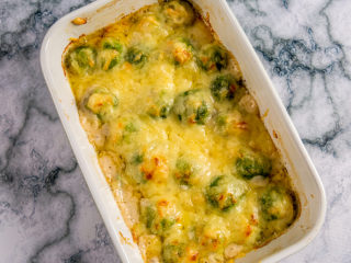 Brussels Sprouts Gratin -