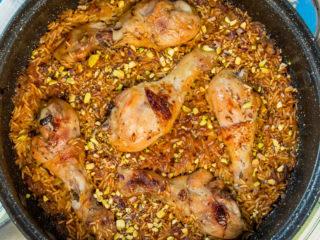 Chicken Drumsticks and Rice Skillet -