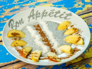 Chia Pudding with Apple and Cinnamon -