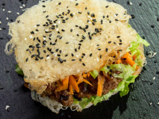 Rice Noodle Burger -