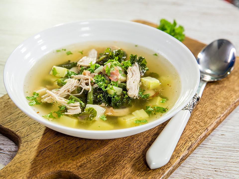 Warming Chicken Soup -