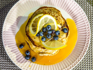 whole wheat ricotta pancakes