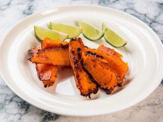 Honey Roasted Sweet Potatoes -