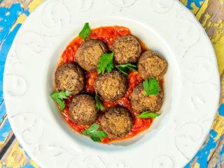 lentil and couscous balls