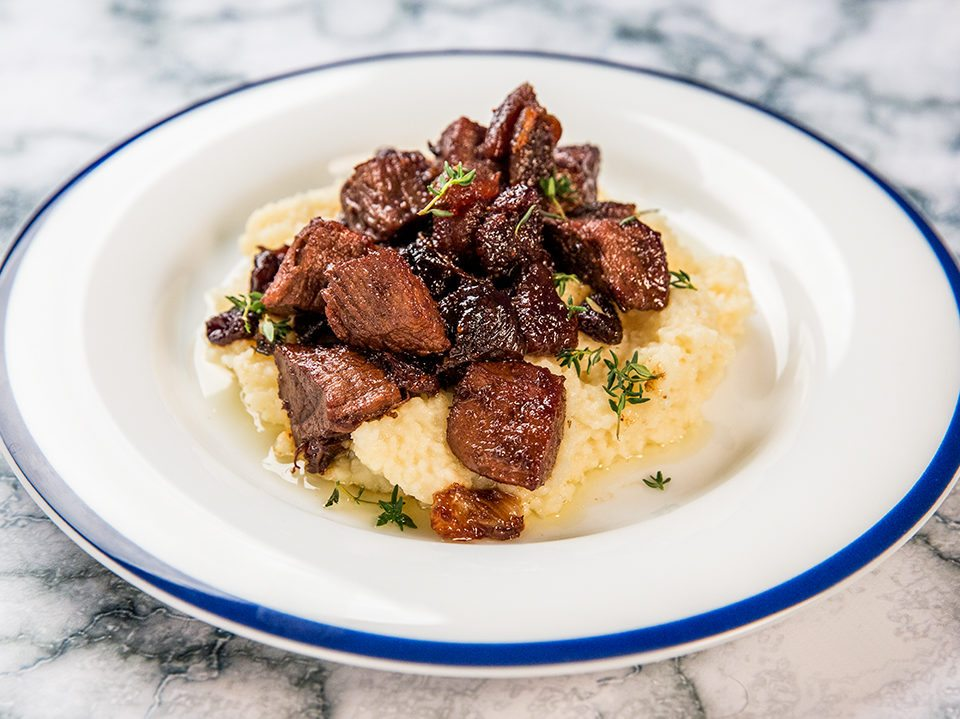 Braised Lamb with Dried Fruit -