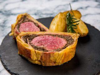 Beef Wellington with Ham -
