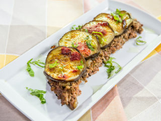 Eggplant and Minced Meat Casserole