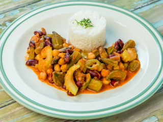 Okra Bean Stew