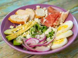 Egg and Chicken Breast Salad
