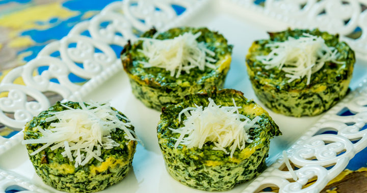 Spinach and Ricotta Muffins