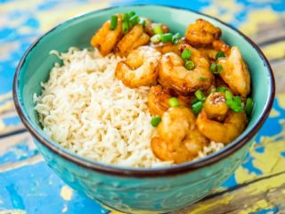 garlic-and-ginger-shrimp-with-rice
