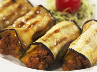 Beef and Eggplant Moussaka Rolls -
