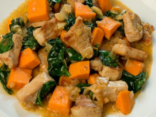 Pork Neck and Carrot Stew