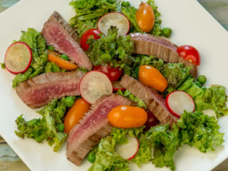 Steak Salad with Fish Sauce Dressing