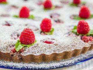Raspberry and Oreo Cocoa Cake -