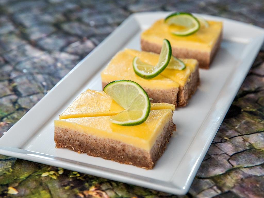 Lemon and Almond Bars