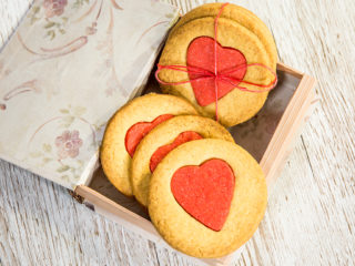Rose Water Cookies