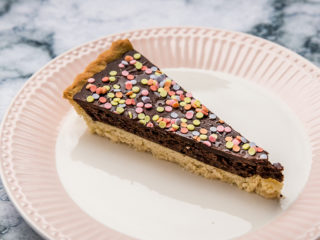 Healthy Chocolate Tart