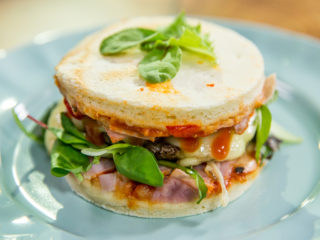 burger pizza sandwich