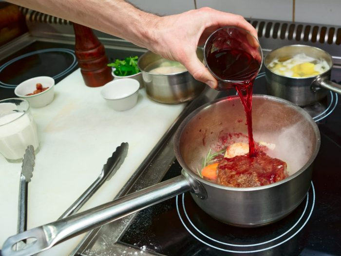 Cook with Alcohol: How to Use Wine, Brandy, and Beer.