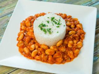 canned white bean stew