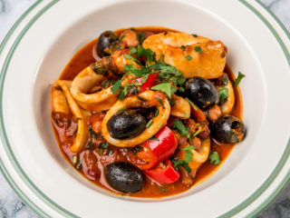 Squid and Bean Stew