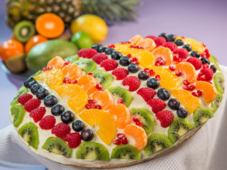 Easter Fruit Tart