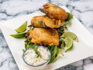 beer battered trout