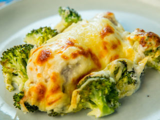 Chicken and Broccoli Casserole with Mozzarella