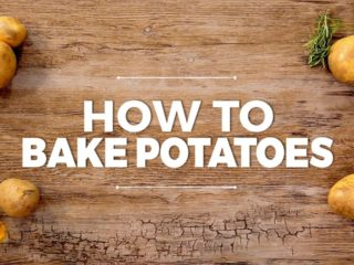 How to bake potatoes