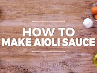 How to Make Aioli Sauce