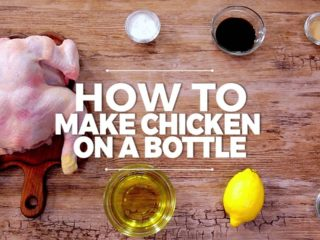 How to make chicken on a bottle