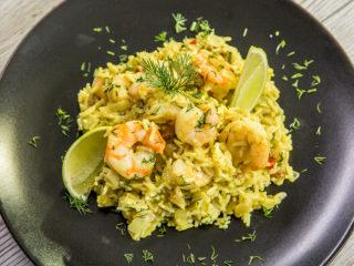 Creamy Rice with Shrimp
