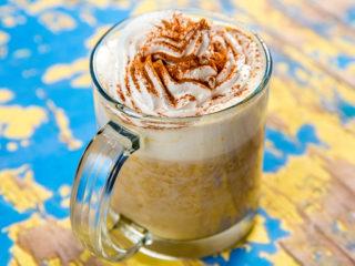 butternut squash spice latte