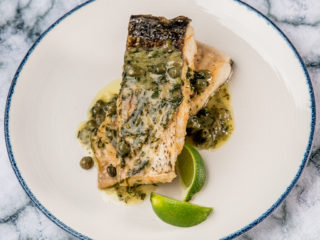 Sole Meuniere with Capers
