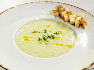 Potato and Zucchini Cream Soup