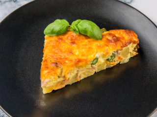 Potato and Ham Frittata