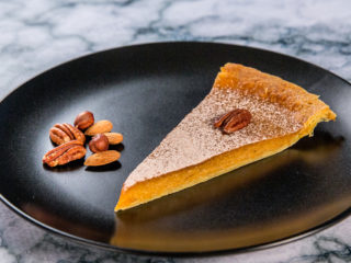 butternut squash and pecan tart